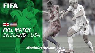 #WorldCupAtHome   England v USA (France 2019)
