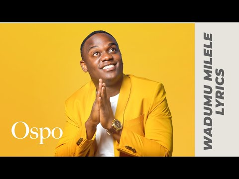 Joel Lwaga - WADUMU MILELE (Official Audio & Lyrics Video)