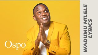 Joel Lwaga   WADUMU MILELE (Official Audio & Lyrics Video)