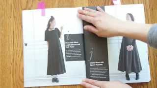 Basic Black - Japanese Sewing Pattern Book Review + GIVEAWAY (Finished)