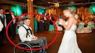 تزوجت من شاب معاق، ولكن يوم الزفاف كان هناك مفاجأة كبيرة بانتظارها