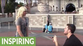 Disney marriage proposal scavenger hunt