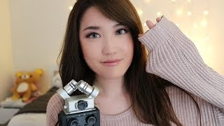 ASMR Exploring The Zoom H6!!! (Tapping, Latex Gloves, Shower Cap) ♡