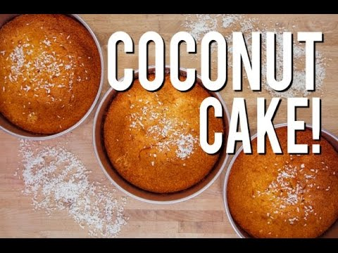 Video How To Make moist, delicious COCONUT CAKE! Easy bake and simple steps!