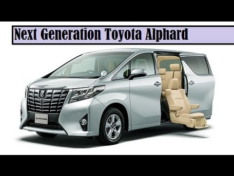 Next Generation Toyota Alphard, the front and rear get bold than the old type