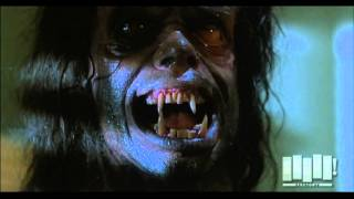 Werewolf transformation The Howling 1981 WOW and one of the best ever must see