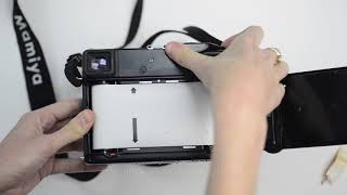 Load/Unload 120 Film (SLR-Style Camera)
