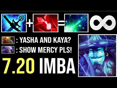 New Item 7.20 Yasha and Kaya Storm Spirit EPIC -16% Mana Loss! Crazy IMBA is Awaken WTF Dota 2