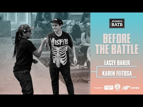Before The Fight For Finals Night - Lacey Baker vs. Karen Feitosa | WBATB