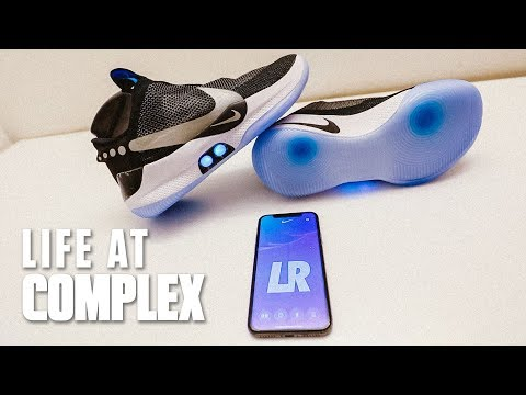 First Ever Nike Adapt Self-Lacing Basketball Sneaker | #LIFEATCOMPLEX
