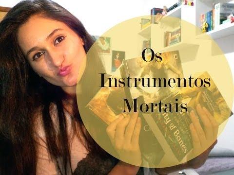 Os Instrumentos Mortais: Cidade dos Ossos, Cidade das Cinzas e Cidade de Vidro