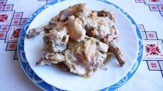 Кролик в сметане Как приготовить кролика блюда из кролика кролик рецепт кролик в духовке
