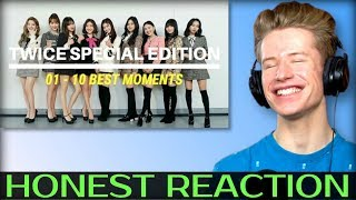 HONEST REACTION to TWICE SPECIAL EDITION #01 - #10 BEST MOMENTS