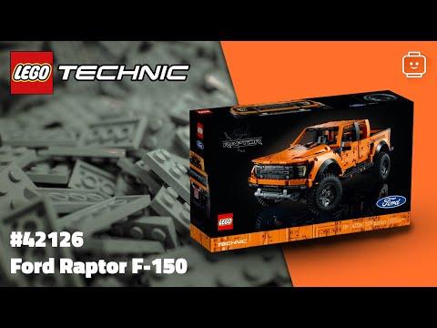 Vidéo LEGO Technic 42126 : Ford Raptor F-150