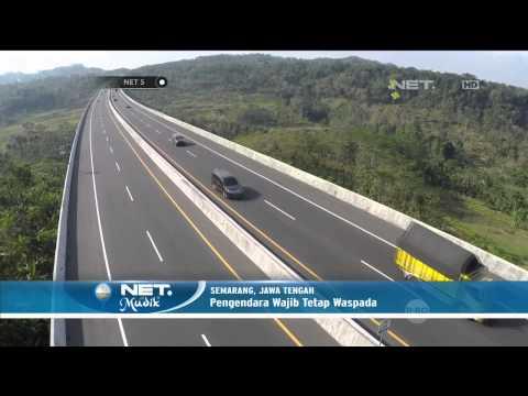 Jalur Favorit Tol Semarang Bawen - NET5