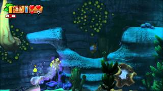 Donkey Kong Country: Tropical Freeze - 100% Walkthrough - 4-4 Irate Eight (Puzzle Pieces and KONG)