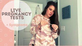 LIVE Pregnancy Tests 2021    8DPO-11DPO