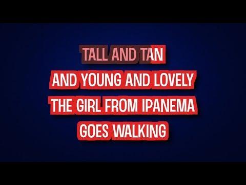 Amy Winehouse - The Girl From Ipanema (Karaoke Version)