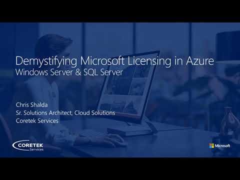 Microsoft Licensing in Azure