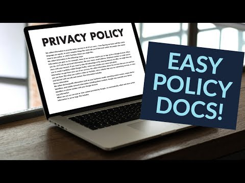 , title : 'Create a Privacy Policy / Cookie Policy for your WordPress Website'
