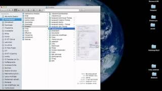 Dropbox-Ordner im Finder