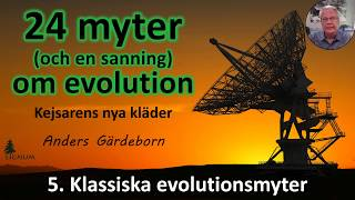 Thumbnail for video: Myter om Evolution - 5. Klassiska myter