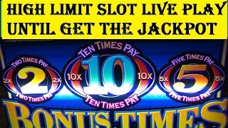 High Limit Slot Live Play★Until get the Jackpot! Handpay Max Bet $15, Special Edition Akafuji Slot