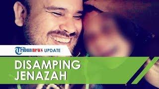 VIDEO Arya Claproth Menangis di Samping Jenazah Zefania, Cium dan Kenang Momen bersama sang Putri