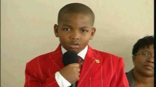 9 year old preacher warns Church on the Religion of Cain_Pt 1 of 4_March 2009