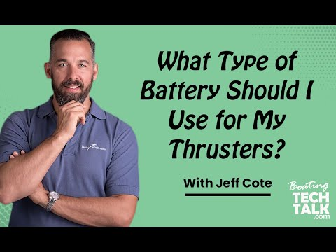 Ask PYS - What Type of Battery Should I Use for My Thrusters?
