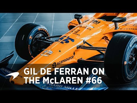 Gil de Ferran on the McLaren #66