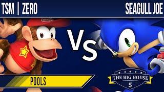 TBH5 Smash 4 - TSM | ZeRo (Diddy Kong) vs Seagull Joe (Sonic) - Pools
