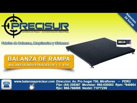 Balanzas Industriales Tipo Rampa - www.balanzasprecisur.com