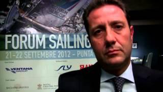 Youtube: Intervista a Giuseppe Coccon, Forum Sailing Cup 2012