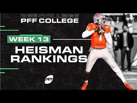 PFF's Heisman Watch Through Week 12 | PFF