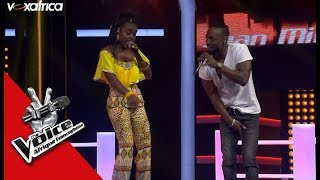 Sean Milano Vs Michelle Durelle 'Bad Boy' De Fally I. Ft Aya N. Les Battles | The Voice Afrique 2017