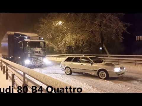 Audi Quattro Power in snow   TOP 10 😳 ❄️ 😳