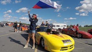 DT Live #9.Dodge Viper из России на гонке в Швеции (часть 1)