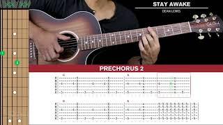Stay Awake Guitar Cover Dean Lewis  🎸 |Tabs + Chords|