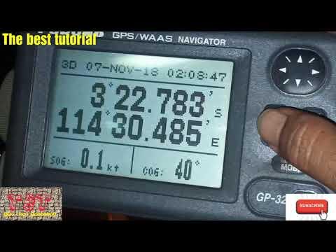 Tutorial Menghapus Track dan Route GPS FURUNO GP-32