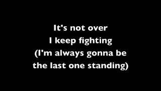 Last One Standing - Simple Plan (Lyrics)