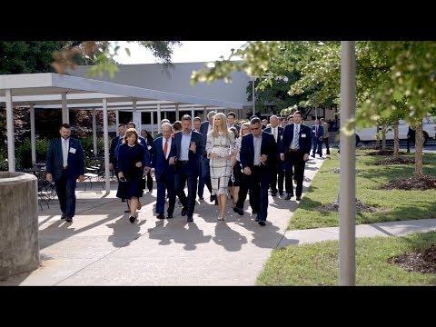 Ivanka Trump Visits North Carolina with the American Workforce Policy Advisory Committee