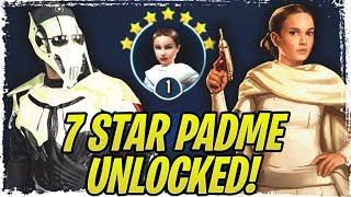7 Star Padme Legendary Guide! NO B1 AND DROIDEKA! Aggressive Negotiations Legendary Event | SWGoH