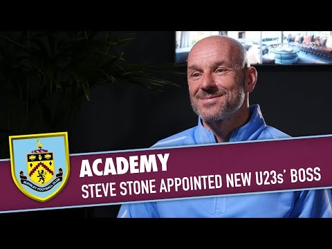 ACADEMY   Steve Stone Appointed New U23s' Boss