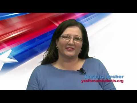 Measure M - Davis Joint Unified School Board District Bond - Yes - Barbara Archer
