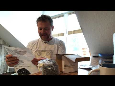 Motorrad LCD/Digital Tacho BMW K 100 Café Racer Umbau Unboxing