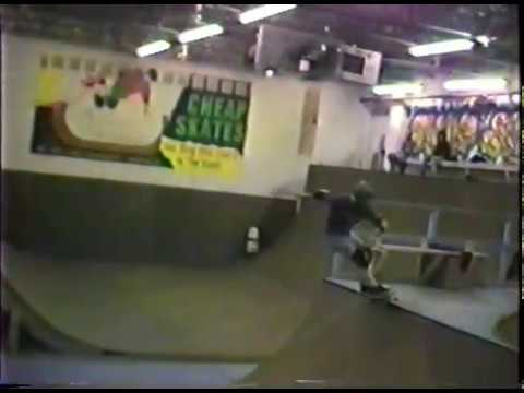 cheapskates skateboarding warehouse 1988ish with sean and tom