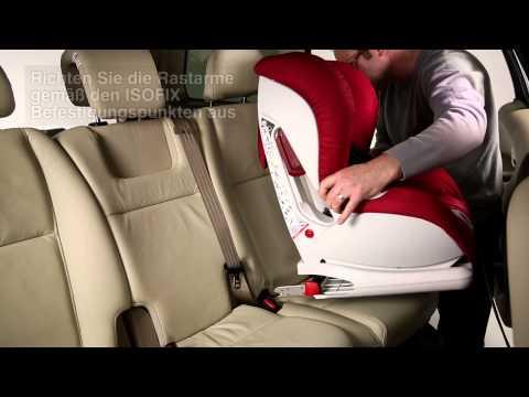 VERSAFIX - Einbau des Sitzes   ISOFIX
