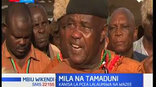Onyo la wazee Wakikuyu kwa PCEA: msiwakataze waumini kushiriki utamaduni wetu