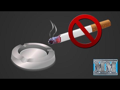 Il fumo smesso quando la voce è restaurata